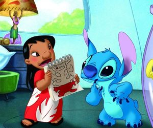 bad, liloandstitch, and good image