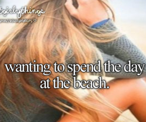 beach, just girly things, and summer image