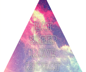 background, rave, and eat image