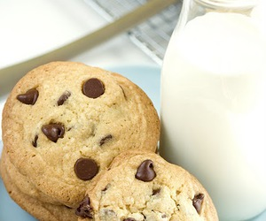 sweet, food, and milk image