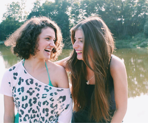 bff, laugh, and summer image