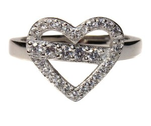 ring, promise ring, and diamond heart image