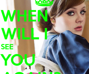 Adele, keep calm, and don't you remember image
