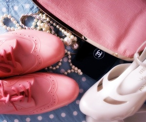 shoes, chanel, and Melissa image