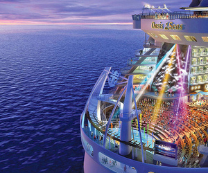 cruise, party, and sea image