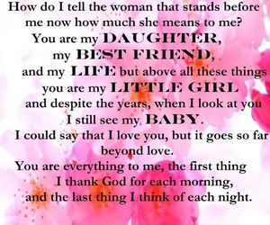 quote, daughter, and girls image