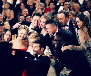oscar, selfie, and Angelina Jolie image