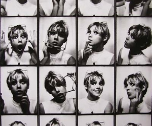 edie sedgwick, black and white, and 60s image