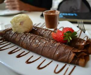 breakfast and chocolate image