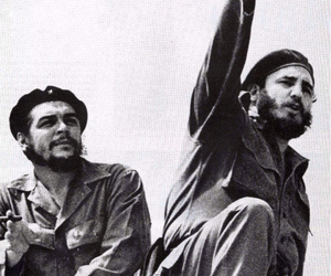 revolution, Che Guevara, and fidel castro image
