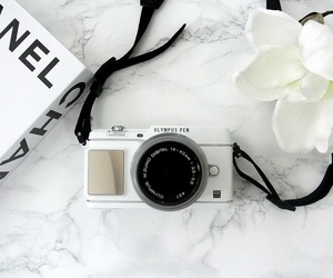 book, camera, and chanel image