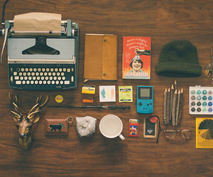 indie, vintage, and notebook image