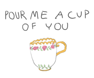 cute, you, and cup image