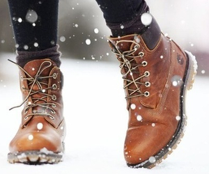 shoes, love, and snow image