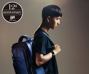 backpack, metallic blue, and 2014.03 image