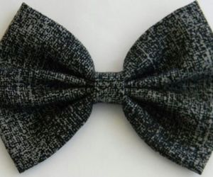 accessories, black, and bows image
