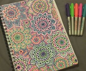 colours, doodles, and sharpies image