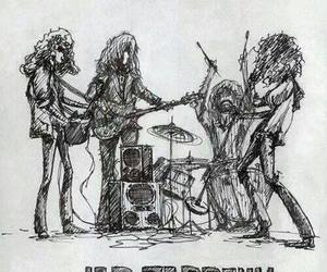 70's, draw, and led zeppelin image