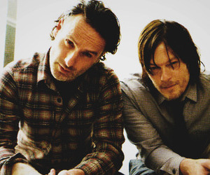norman reedus, twd, and rick grimes image