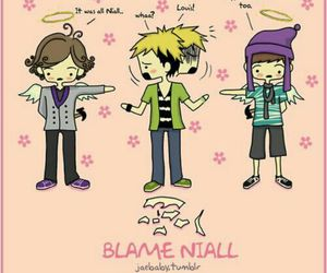 funny, one direction, and niall horan image