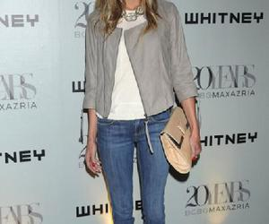 blond, clutch, and jeans image