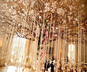 wedding, tree, and decoration image