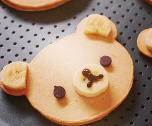 pancakes, cute, and food image