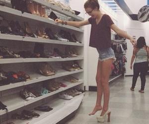 girl, shoes, and acacia image