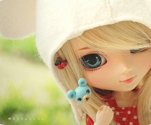 doll, cute, and barbie image