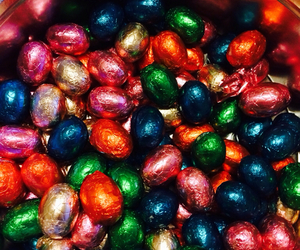chocolate, easter eggs, and snack image