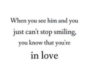 smiling and love image