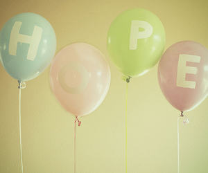 hope and balloons image