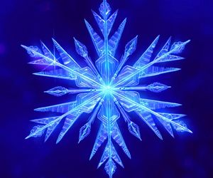 frozen, snowflake, and disney image