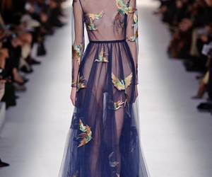 Valentino, dress, and model image