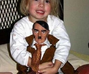 hitler, child, and kids image