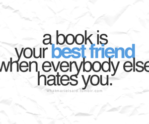 book and best friend image