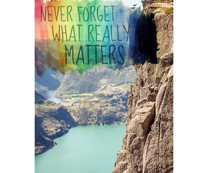I Love You, quote, and what really matters image
