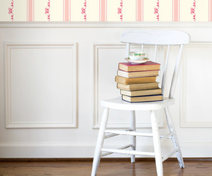 book, chair, and cup image