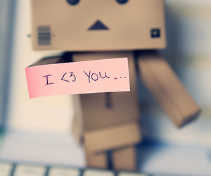 danbo, cute, and love image