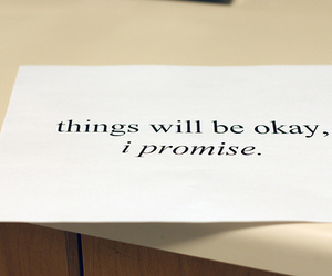 promise, quote, and okay image
