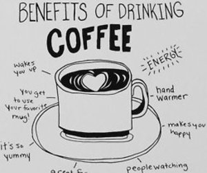 coffee, benefit, and energy image