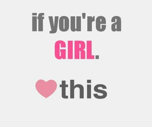 girl, heart, and pink image