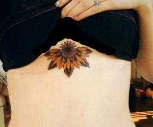 fleur, flor, and tatoo image