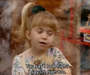 high, funny, and full house image