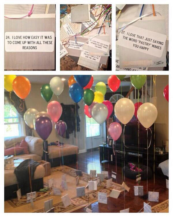 Surprise your girlfriend on her birthday