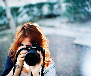 ginger, girl, and photography image