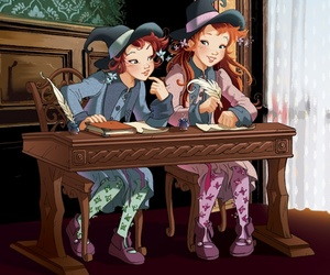 twins and witch image
