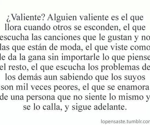 valiente, frases, and cry image
