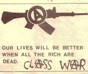 anarchy and class war image