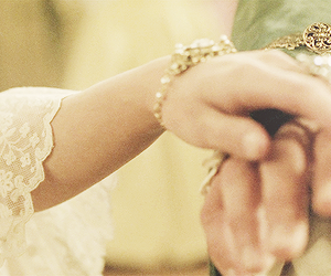 pearls, hands, and a royal affair image